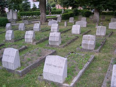 Soviet War Cemetery Sighisoara