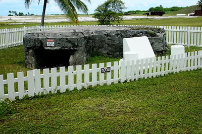 Japanese Pillbox Kwajalein