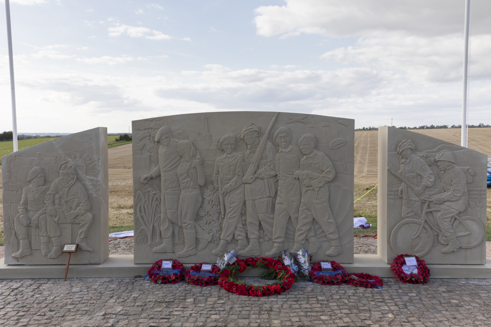 Memorial 10th Battalion Parachute Regiment