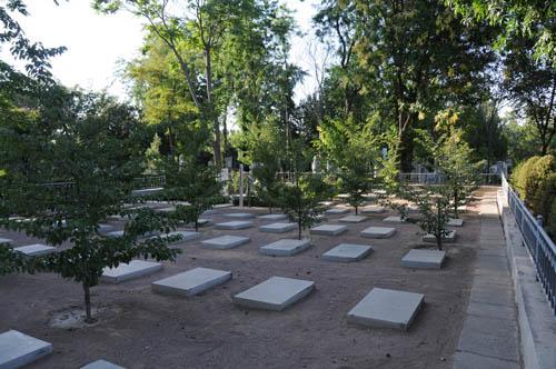 Japanese War Graves Tashkent