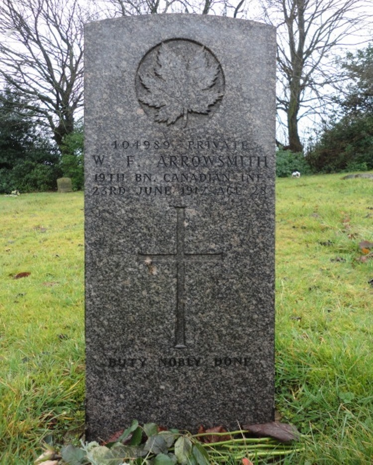 Commonwealth War Graves Fenton Cemetery