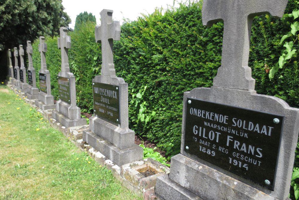Belgian War Graves Silsburg