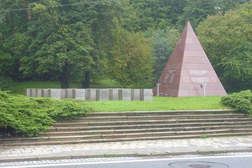 Mass Grave Soviet Soldiers Brno
