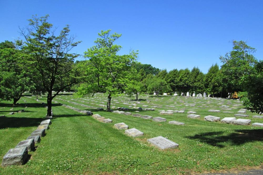 Amerikaanse Oorlogsgraven Cave Hill Cemetery
