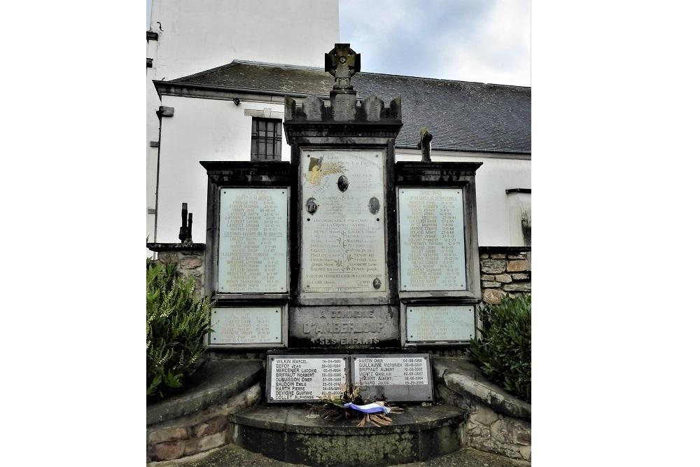 War Memorial Amberloup