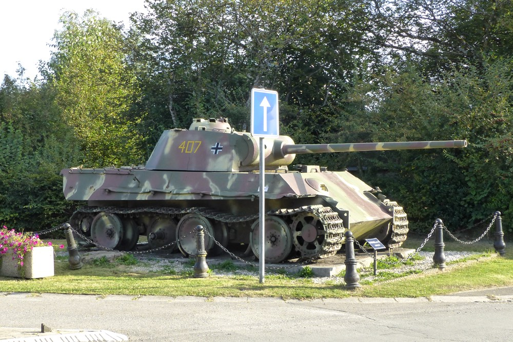 Panther Tank Grandmenil