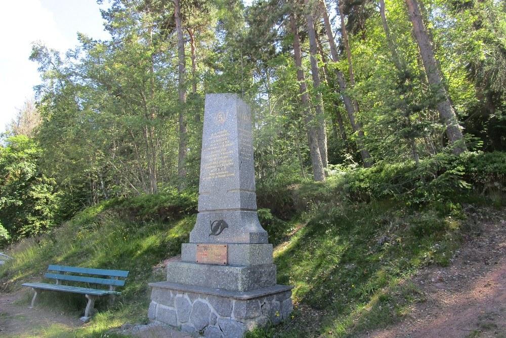 Memorial of the 107th and 45th Brigade Commando Post