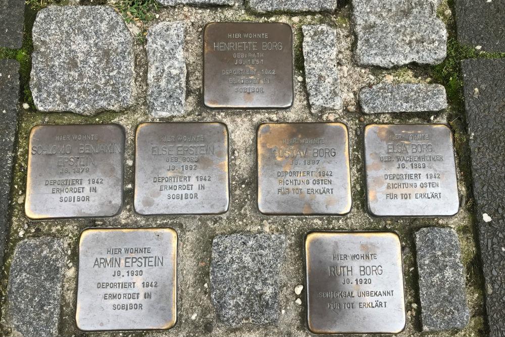 Stumbling Stones Poststraße 37
