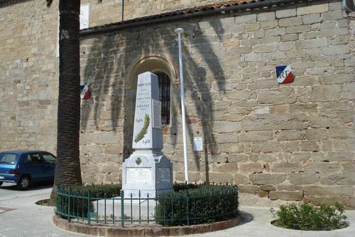 War Memorial Grimaud