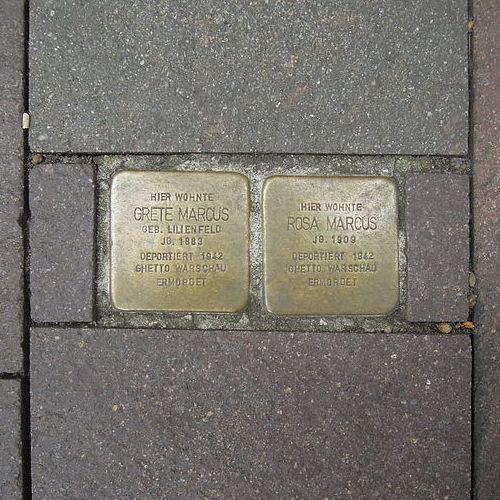 Stolpersteine Lange Straße 14