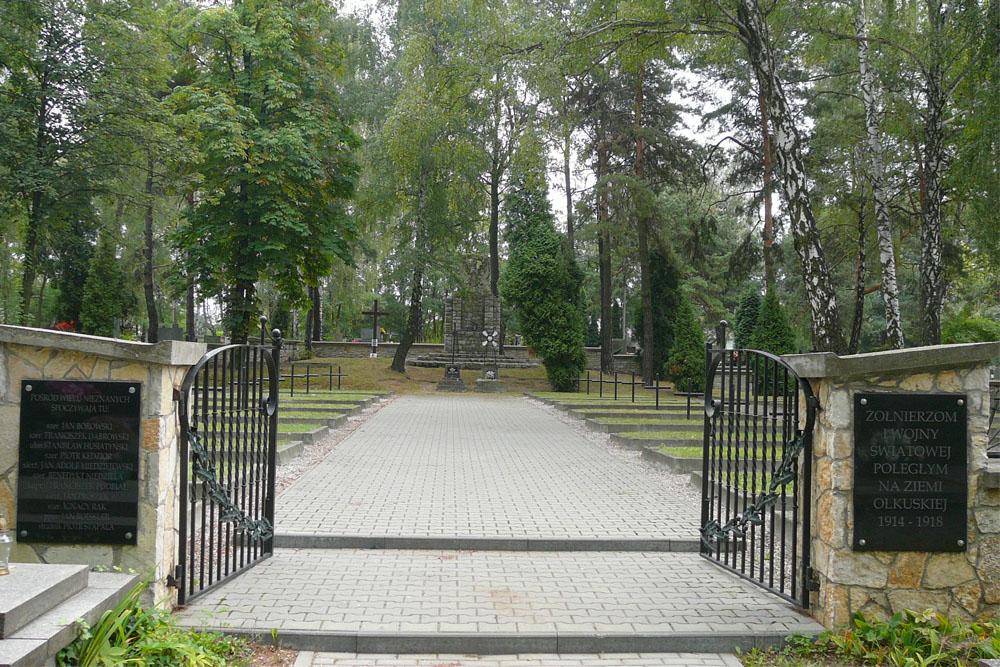 Oorlogsbegraafplaats Olkusz