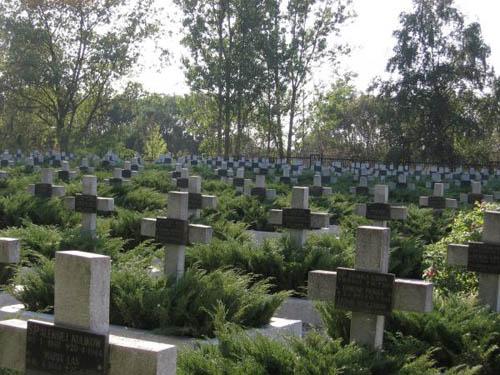 Begraafplaats Slachtoffers Werkkamp Lebrechtsdorf