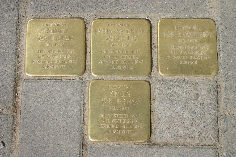 Stolpersteine Hoofdstraat 57