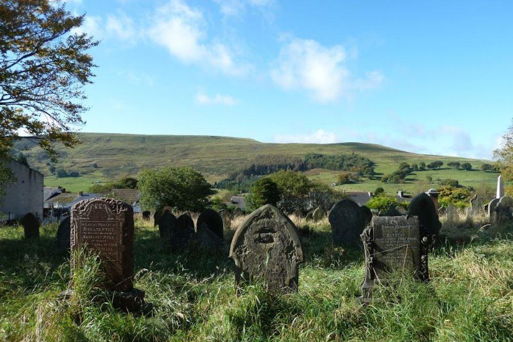 Commonwealth War Grave Hermon Baptist Burial Ground
