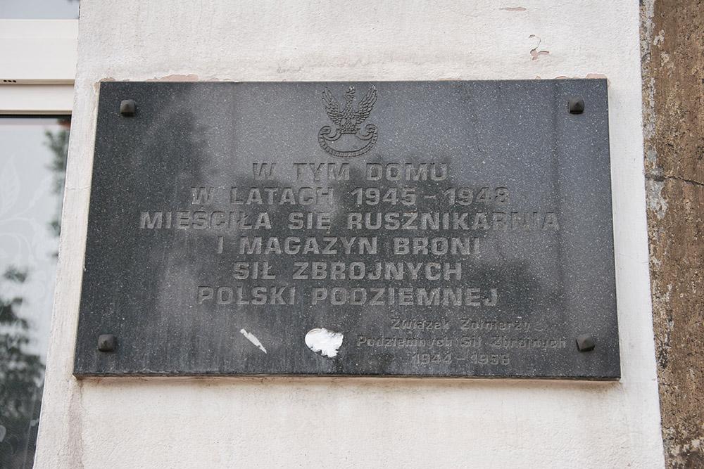Voormalige Arsenaal Armia Krajowa 1945-1948