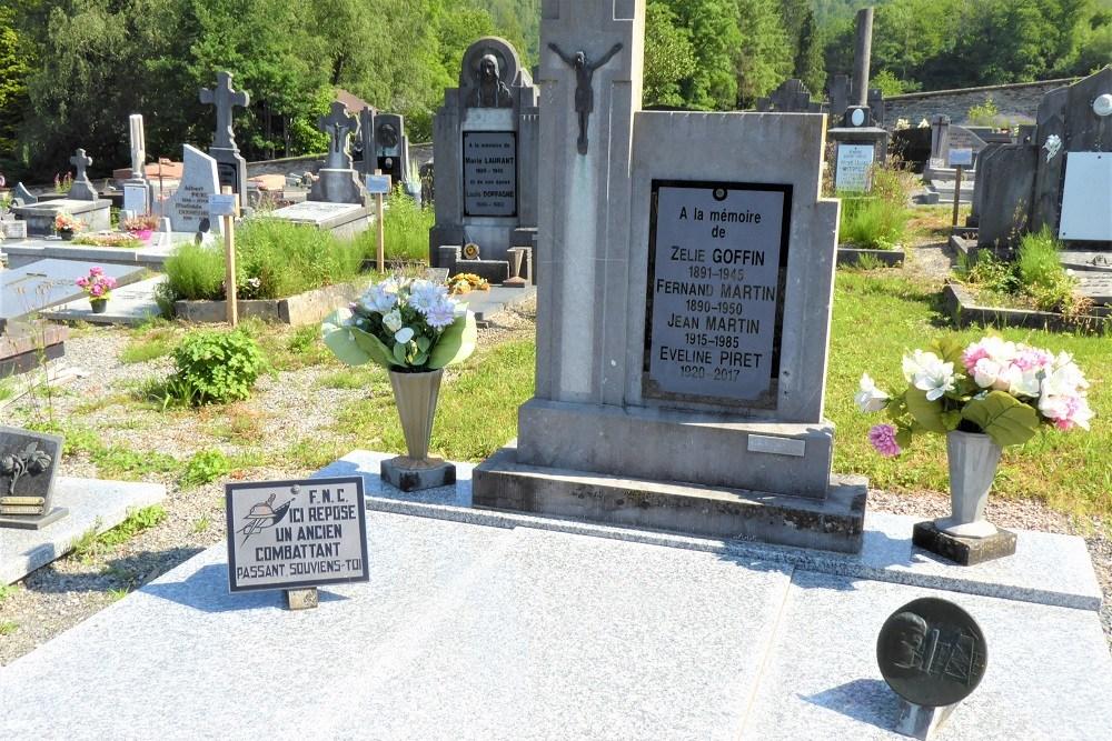 Graven Oudstrijders Alle-sur-Semois