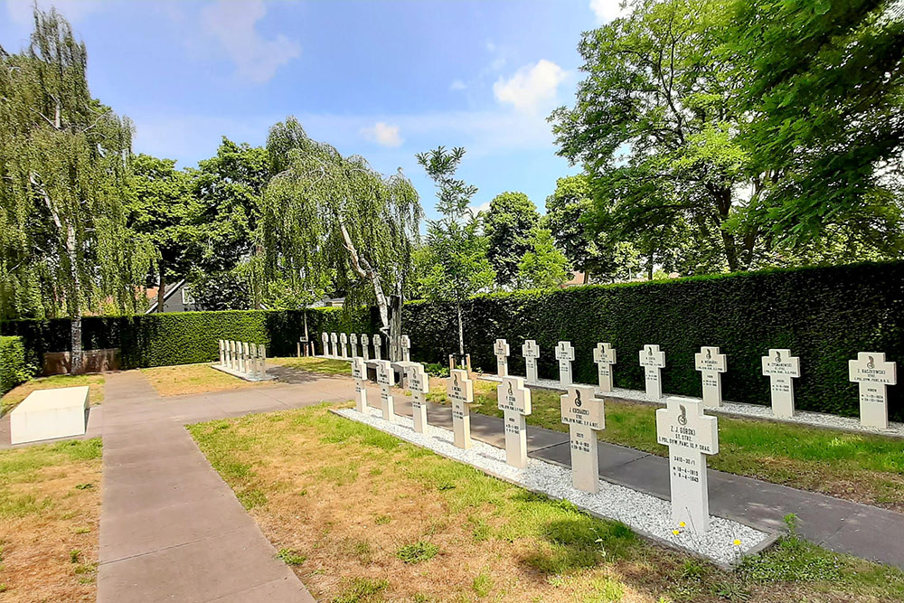 Poolse Oorlogsgraven Algemene Begraafplaats Leyssenakkers Oosterhout