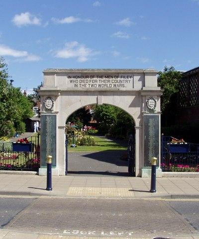 War Memorial Filey