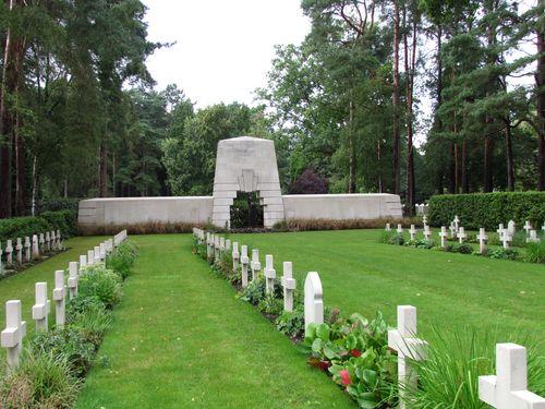 Franse Oorlogsgraven Brookwood Military Cemetery