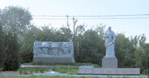 Mass Grave Soviet Soldiers Inavka