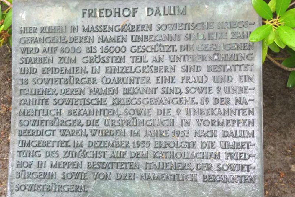 Soviet War Cemetery Dalum-Rull
