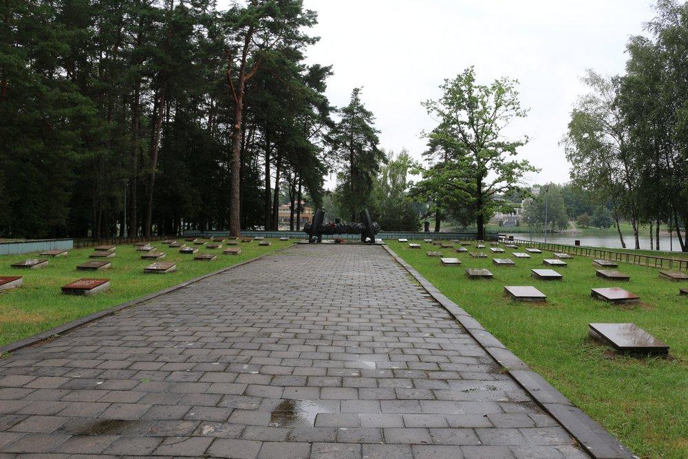 Soviet War Cemetery Druskininkai