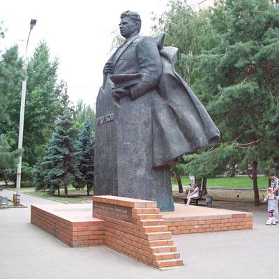 Monument Maarschalk van de Sovjet-Unie Vasili Tsjoejkov