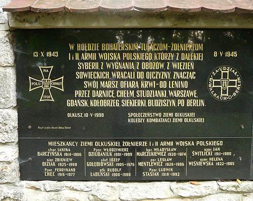 Monument Poolse Strijdkrachten in het Oosten
