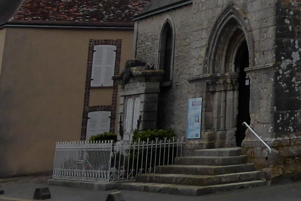 Oorlogsmonument Prunay-le-Gillon
