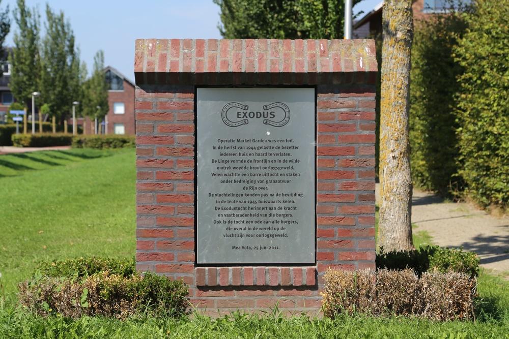 Exodus Memorial Huissen