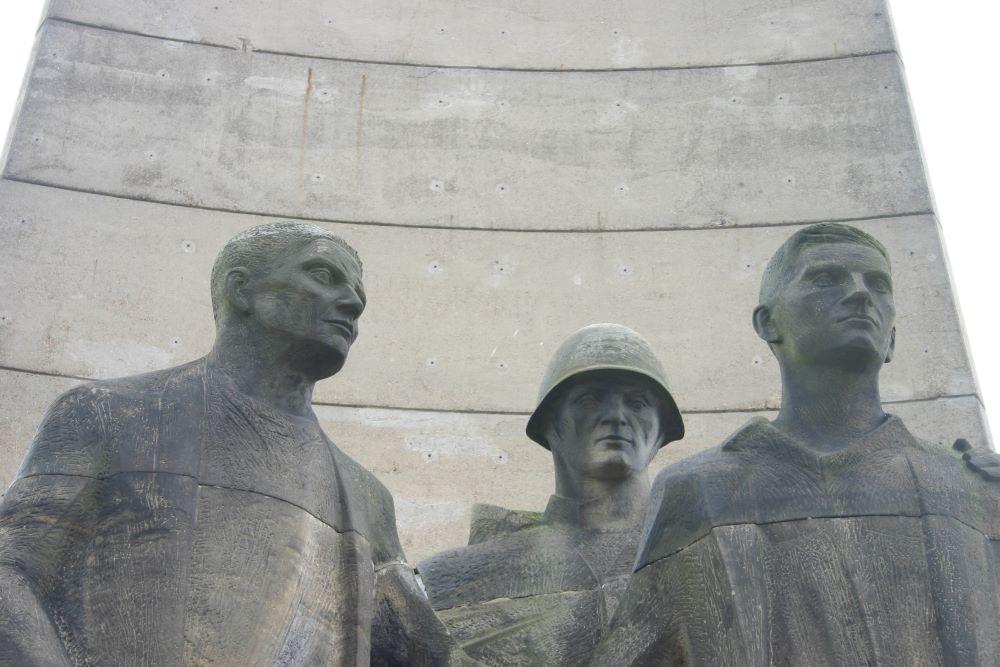 Memorial Statue Sachsenhausen Concentration Camp