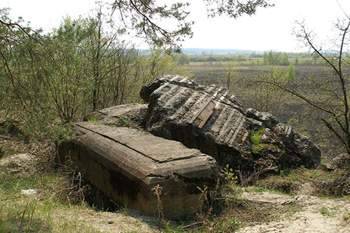 Stalin Line - Remains Bunker No. 577