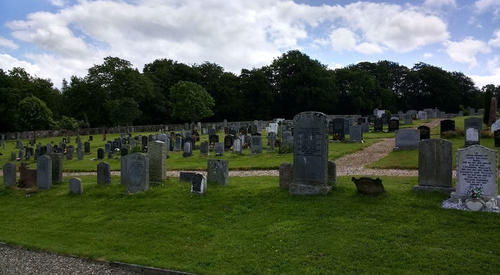 Commonwealth War Graves Kilmadock Burial Ground