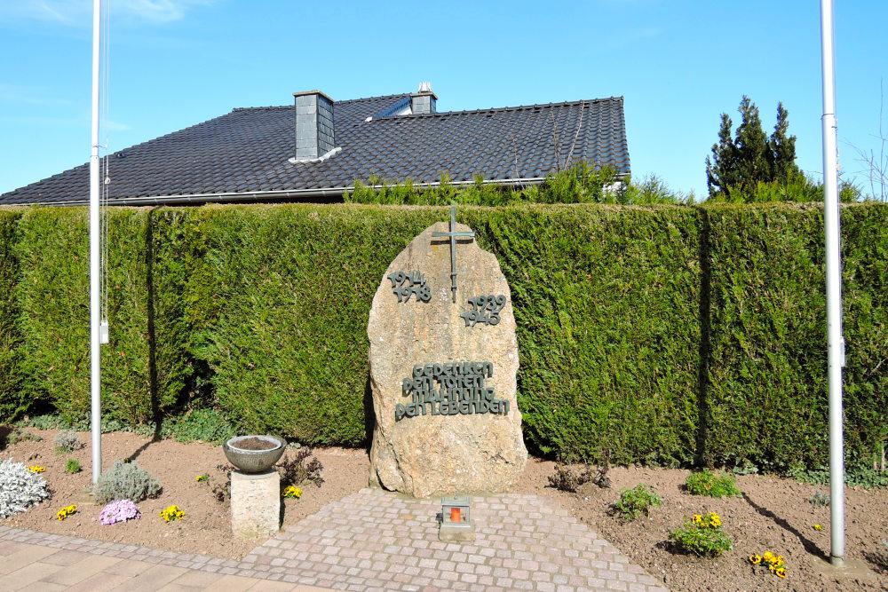 Oorlogsmonument Leversbach