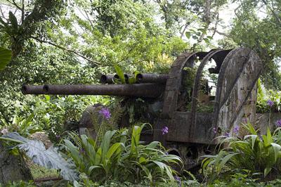 Japanse Luchtdoelbatterij Pohnpei