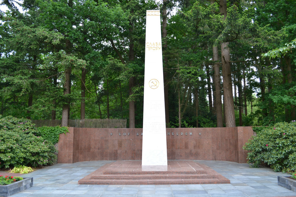 Sovjet Monument Oorlogsbegraafplaats Amersfoort