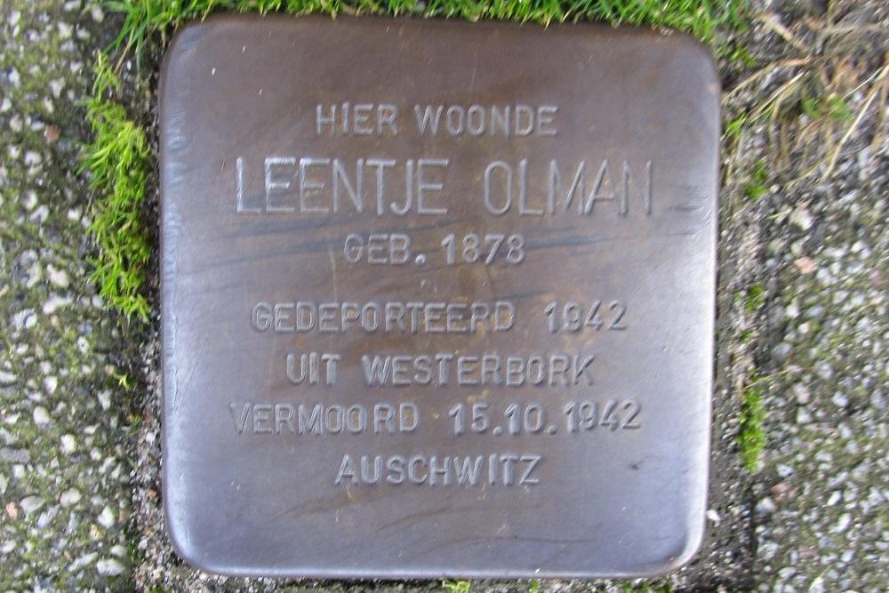 Remembrance Stone De Quackstraat 64c
