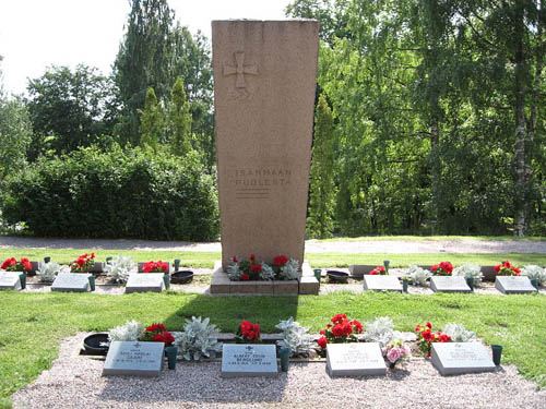 Finse Oorlogsgraven Karjalohja