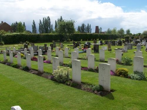 Oorlogsgraven van het Gemenebest Woodhouse Cemetery