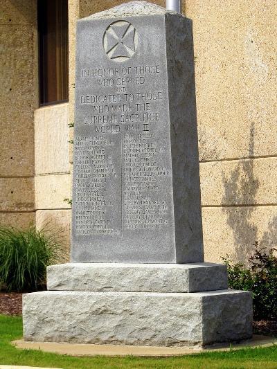 Monument Tweede Wereldoorlog Wayne County