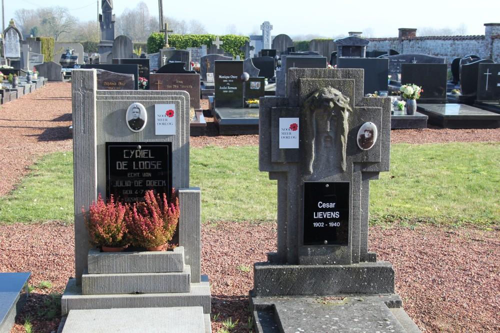 Belgische Oorlogsgraven Haaltert