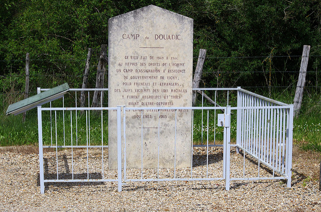 Memorial Internment Camp Douadic