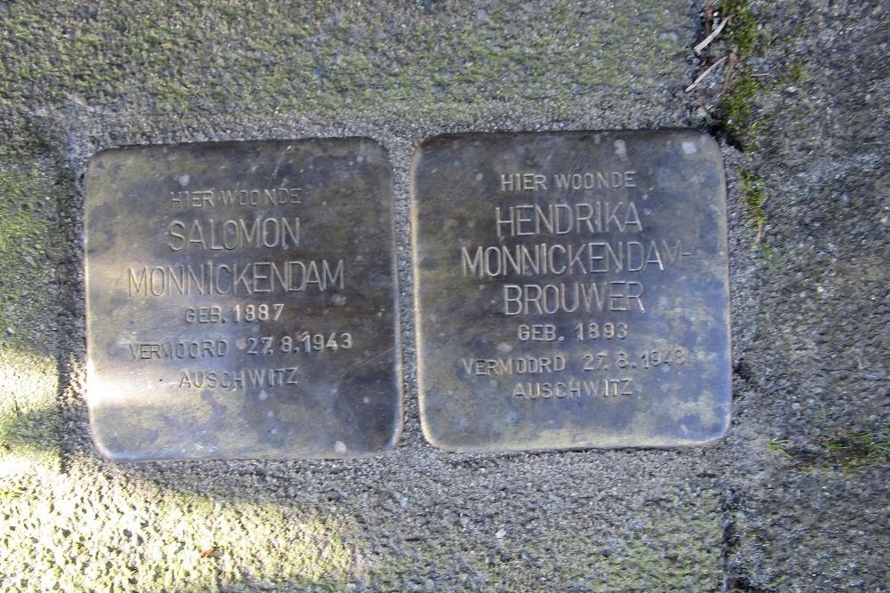 Remembrance Stones Enckevoirtstraat 26