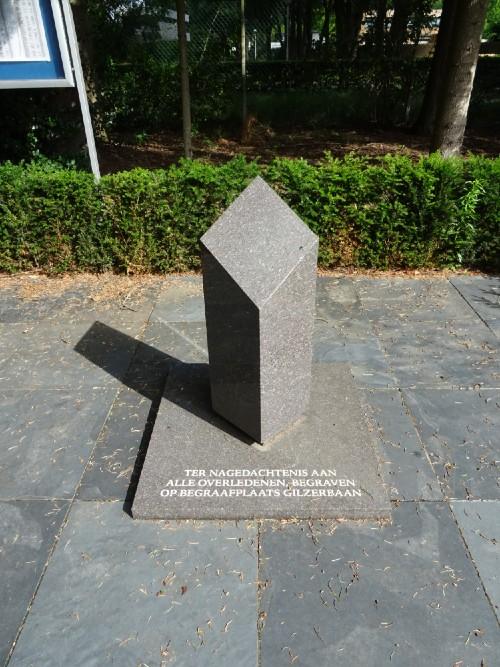 Monument Algemene Begraafplaats Gilzerbaan