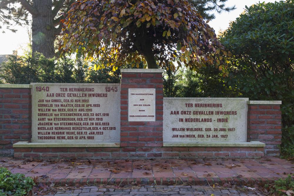 Oorlogsmonument Algemene Begraafplaats Woudenberg