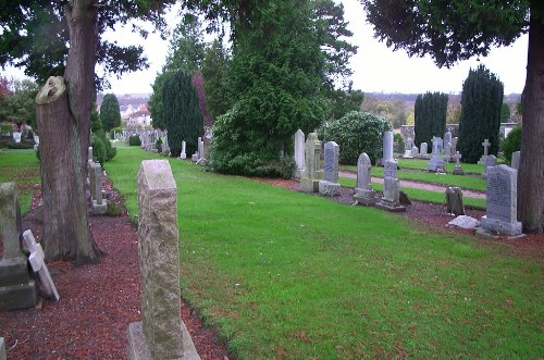 Commonwealth War Graves St. Andrews Western Cemetery