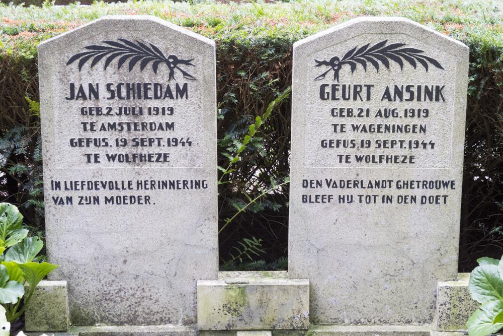 Nederlandse Oorlogsgraven Wolfheze