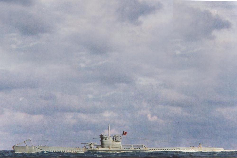 Scheepswrak Onderzeeboot