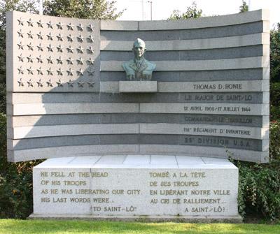 Monument Thomas D. Howie