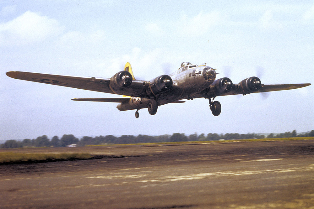 Crashlocatie B-17G 42-31314